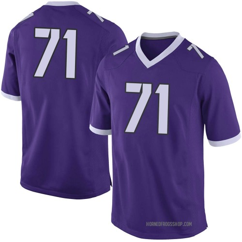 Men's Nike Marcus Williams TCU Horned Frogs Limited Purple Football College Jersey