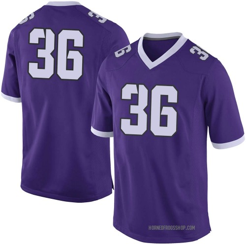 Men's Nike Ryan Martin TCU Horned Frogs Limited Purple Football College Jersey