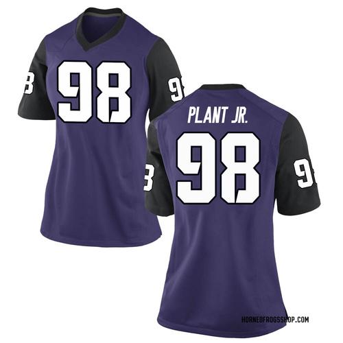 Women's Nike Adam Plant Jr. TCU Horned Frogs Game Purple Football College Jersey