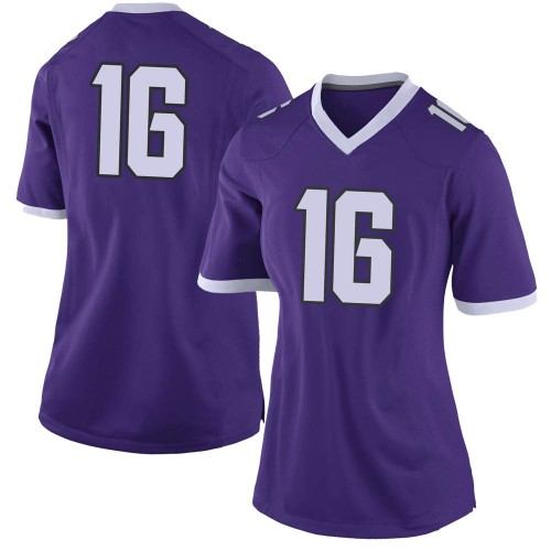 Women's Nike Alex Delton TCU Horned Frogs Limited Purple Football College Jersey