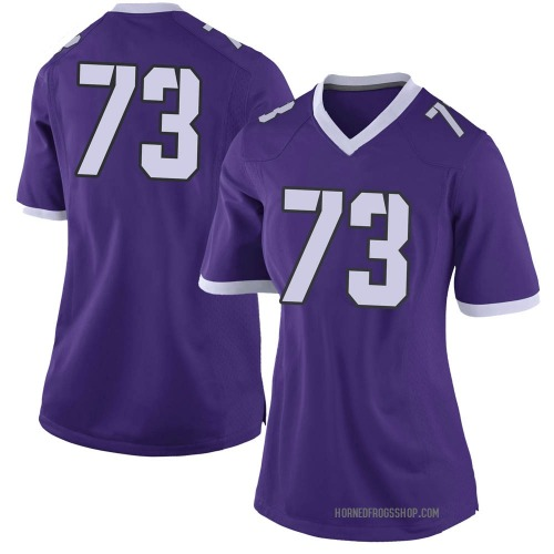 Women's Nike Blake Hickey TCU Horned Frogs Limited Purple Football College Jersey