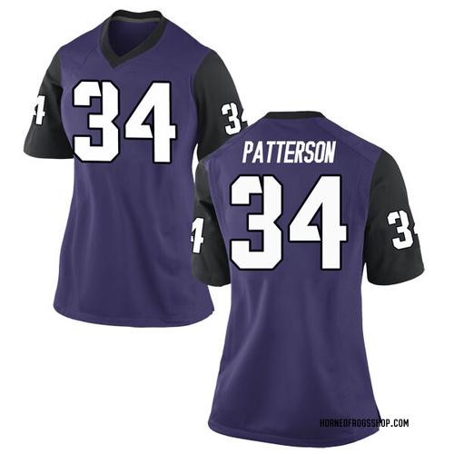 Women's Nike Blake Patterson TCU Horned Frogs Replica Purple Football College Jersey