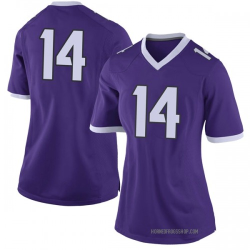 Women's Nike Chase Van Wagoner TCU Horned Frogs Limited Purple Football College Jersey