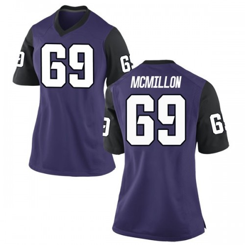 Women's Nike Coy McMillon TCU Horned Frogs Game Purple Football College Jersey