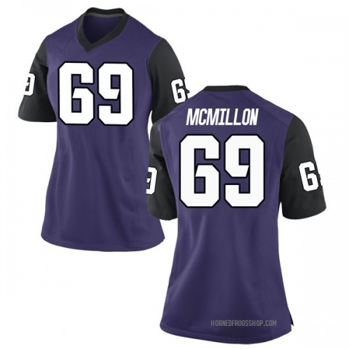 Women's Nike Coy McMillon TCU Horned Frogs Replica Purple Football College Jersey