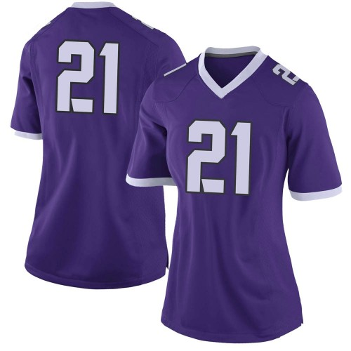 Women's Nike Daimarqua Foster TCU Horned Frogs Limited Purple Football College Jersey