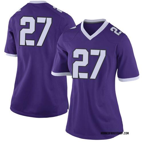 Women's Nike Devin Buckner TCU Horned Frogs Limited Purple Football College Jersey