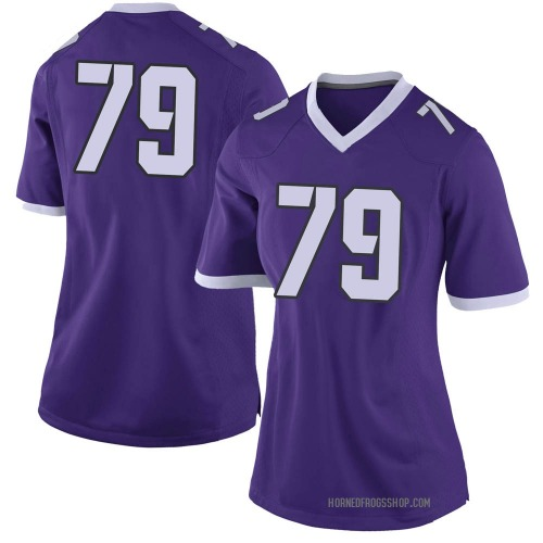 Women's Nike Esteban Avila TCU Horned Frogs Limited Purple Football College Jersey