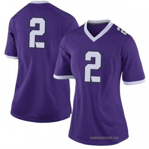 Women's Nike Jaelan Austin TCU Horned Frogs Limited Purple Football College Jersey
