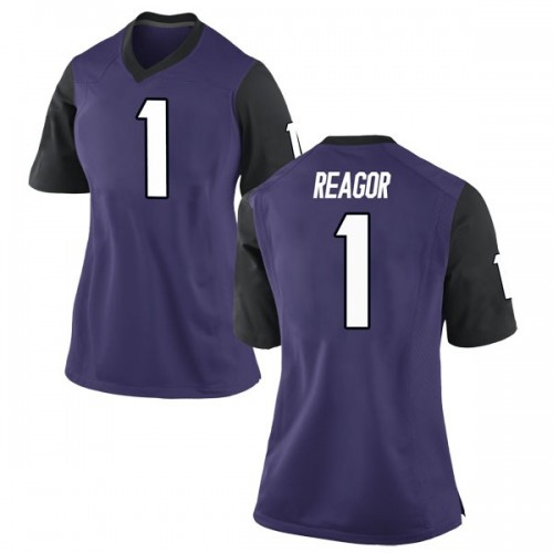 Women's Nike Jalen Reagor TCU Horned Frogs Replica Purple Football College Jersey