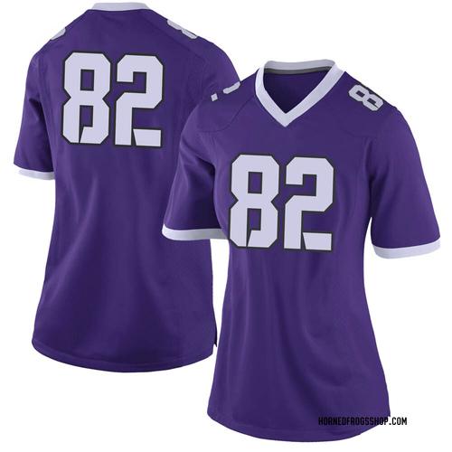 Women's Nike Jason Darmore TCU Horned Frogs Limited Purple Football College Jersey