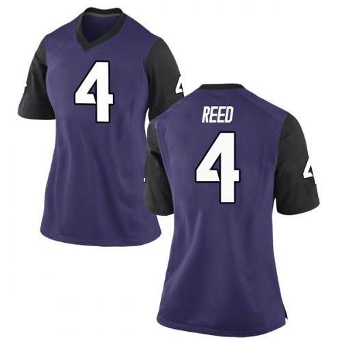 Women's Nike Keenan Reed TCU Horned Frogs Replica Purple Football College Jersey