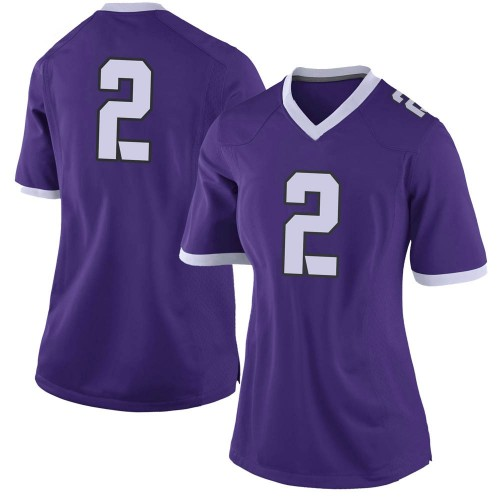 Women's Nike Kee'yon Stewart TCU Horned Frogs Limited Purple Football College Jersey