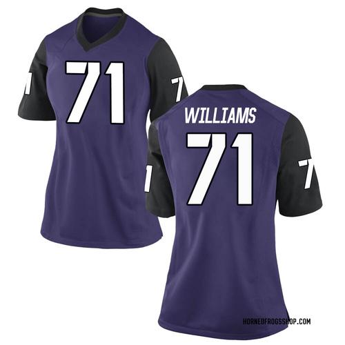 Women's Nike Marcus Williams TCU Horned Frogs Replica Purple Football College Jersey