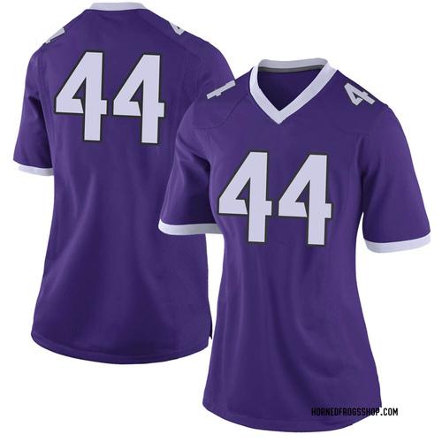 Women's Nike Michael Franklin TCU Horned Frogs Limited Purple Football College Jersey