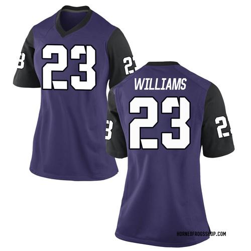 Women's Nike Penny Baker TCU Horned Frogs Replica Purple Football College Jersey