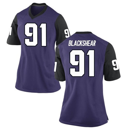 Women's Nike Shameik Blackshear TCU Horned Frogs Replica Purple Football College Jersey