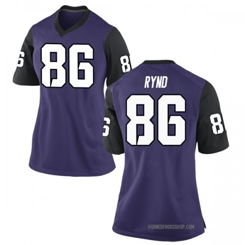 Women's Nike Walker Rynd TCU Horned Frogs Game Purple Football College Jersey