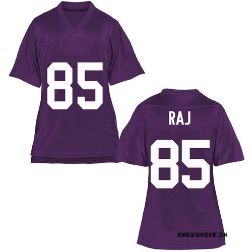 Women's Niven Raj TCU Horned Frogs Replica Purple Football College Jersey
