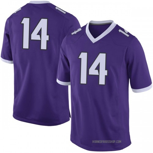 Youth Nike Chase Van Wagoner TCU Horned Frogs Limited Purple Football College Jersey