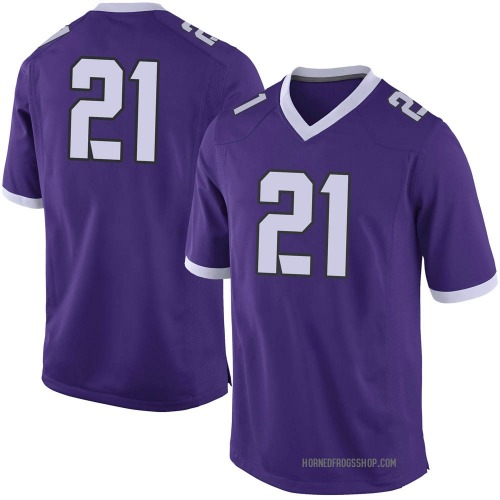 Youth Nike Daimarqua Foster TCU Horned Frogs Limited Purple Football College Jersey