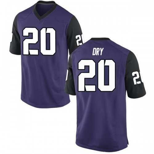 Youth Nike Dalton Dry TCU Horned Frogs Replica Purple Football College Jersey
