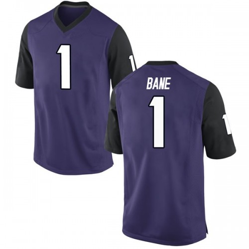 Youth Nike Desmond Bane TCU Horned Frogs Game Purple Football College Jersey