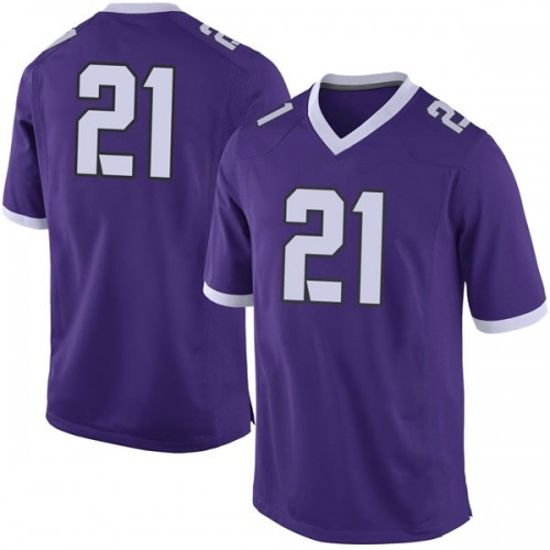 Youth Nike Emari Demercado TCU Horned Frogs Limited Purple Football College Jersey