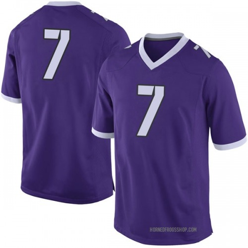 Youth Nike John Stephens Jr. TCU Horned Frogs Limited Purple Football College Jersey