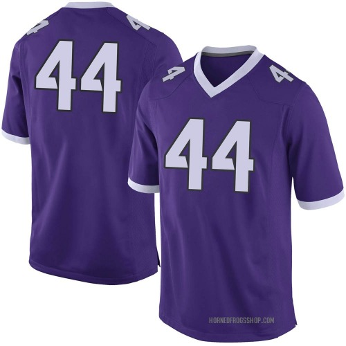 Youth Nike Michael Franklin TCU Horned Frogs Limited Purple Football College Jersey